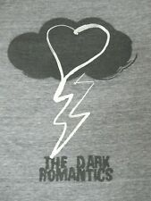 RARE - THE DARK ROMANTICS - HEART IN RAIN CLOUD - MEDIUM - GRAY T-SHIRT- C1506