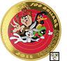 2015 $100 14-Karat Gold Coin -Looney Tunes(TM);Bugs Bunny & Friends(17332)(OOAK)