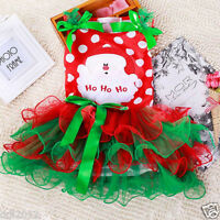 Baby Kids Girls Dresses New Year Christmas Polka Dot Cotton Tulle Party Dresses