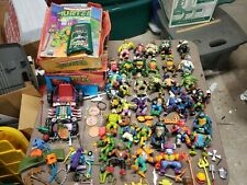 VINTAGE 80's/90's Teenage Mutant Ninja Turtles Fig's/Vehicle/Accessories/Weapons