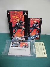 SNES -- SWORD MANIAC -- Boxed. Super famicom. Japan game. work fully. 13882