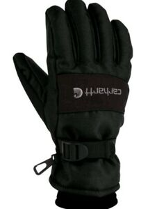 Men Winter Work Gloves size LG Waterproof Insulated Lining Soft Shell Carhartt