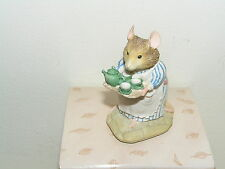 BRAMBLY HEDGE BORDER FINE ARTS BFA MRS APPLE  IN BOX GOLD LABEL BH1 LOVELY