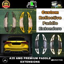 Eaziwrap Mercedes A35 A45 AMG Paddle Shift Gear Extensions - Custom Reflective