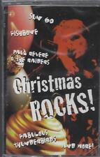 CHRISTMAS ROCKS! Sun-60 FISHBONE Charlie Daniels Rosanne Cash NEW CASSETTE