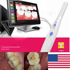 USA 2-5Days Dental 5.0 MP USB IntraOral Oral Camera 6 LED Light HK790 + Software