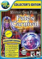 Mystery Case Files Fate's Carnival PC Games Windows 10 8 7 XP Computer seek find