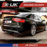"""RS4 style rear diffuser for AUDI A4 B8 2008-2012 SE """"Basic model"""""""