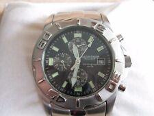 Newton & Sons Herren Armbanduhr Metallarmband mit Batterie Chronograph stylish