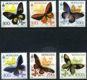 Mongolia - Butterflies Briefmarken timbres.- stamps  MNH** - Alb.1 - 2