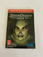 StarCraft Expansion Set Brood War- Prima's Official Strategy Guide