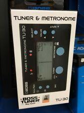 New Boss TU-30 Tuner & Metronome