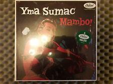 "YMA SUMAC-  ""MAMBO !""  -CAPITOL/RE-       ¤¤¤      NM / NM  ¤¤¤"