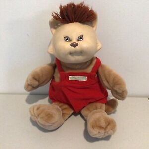 """Vintage Cabbage Patch Kids. """"Koosas"""" with Red Short Dungarees 39cm Tall #667"""
