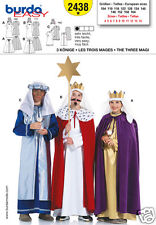 Burda 2438 Three Wize Men Costumes Sizes 4-14 Sewing Pattern