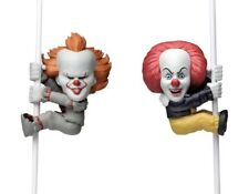 """IT 1990 & 2017 Pennywise Scalers 2"""" Collectible Minis Set of 2 NECA"""