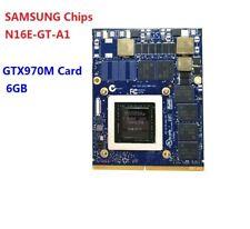 GTX 970M GTX970M N16E-GT-A1 6GB Video Graphics Card For Clevo HP Dell Alienware