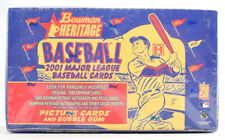 2001 BOWMAN HERITAGE Baseball - Factory SEALED HOBBY Box