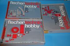 Fischertechnik Hobby 1, Hobby 2, Hobby 3  Topp
