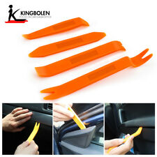 Car Door Trim Removal Tool Pry Panel Dash Radio Body Clip Installer Kit 4Pcs
