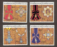 1988 THAILAND ROYAL DECORATION ORDER STAMP SET SCOTT#1278-1285 VF MNH FRESH