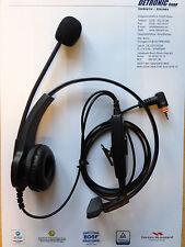 Kopfbügel  Headset einseitig mit PTT-Taste für Motorola SL1600 / SL4000 MotoTRBO