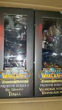 World of WarCraft Premium Series 2 Figure WARCHIEF THRALL+WARLOCK DC Unlimited