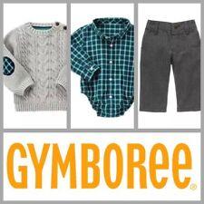 NEW $88 Gymboree Holiday 'Dressed Up' Sweater/Polo~bodysuit/Pant Set Boy 3-6 mo