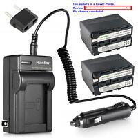 Kastar Battery Charger Sony NP-F960 NP-F970 NP-F975 F950 BC-VM10 BC-VM50 BC-V615