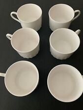 New Listing6 x Wedgwood Colosseum Bicentenary Cups white 1998