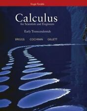 Calculus for Scientists and Engineers: Early Transcendentals, Single Variable