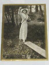 04F59 RARE ANCIEN CATALOGUE GÉNÉRAL APPAREILS PHOTOS KODAK DATE SEPTEMBRE 1916