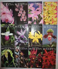 12 AMERICAN ORCHID SOCIETY BULLETIN 1989, JAN. THRU DEC.