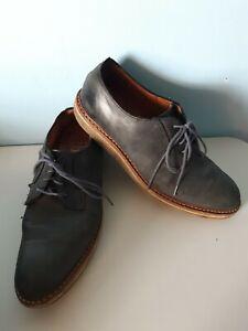 Allen Edmonds Oxfords Cove Drive Blue Lace Up Leather Size 9 D Shoes Mens Dressy