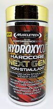 MuscleTech Hydroxycut Hardcore Next Gen Non Stimulant 150 caps Weight Loss  NEW