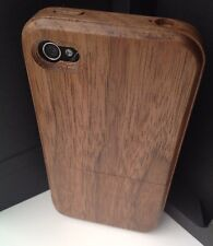 iPhone 4/4s Walnut Wood Case, Genuine iWooden✔️Thinnest Wood Cover Available✔️