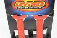 VINTAGE BMX DYNO GT GRIPS THIN SUCTION CUP RED OLD SCHOOL