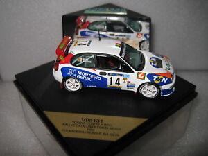 1/43 VITESSE TOYOTA COROLLA WRC 1998 RALLY CATALUNYA COSTA #14 MADEIRA  #V98131