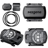 Waterproof Bluetooth Wireless ANT+ Speed & Cadence Sensor For Garmin/Bryton