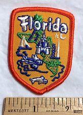 Florida Tourism Tourist Attractions Souvenir Embroidered Patch Badge