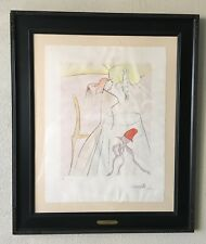 "SALVADOR DALI Art Work ""JAPANESE FAIRY TALES Etching AUTHENTIC COA""Reduced Price"
