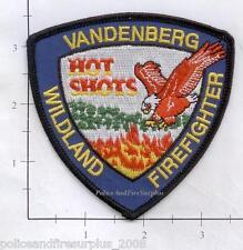 California - Vandenberg Hot Shots Wildland CA Fire Dept Patch v2
