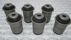 1963-1965 Buick Riviera Rear Axle Control Arm Bushings. Complete Set of 6