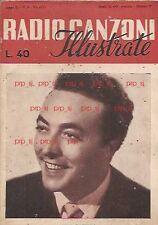 LATIILLA RADIO CANZONI 1951 VAILATI CLUBERTI VALABREGA