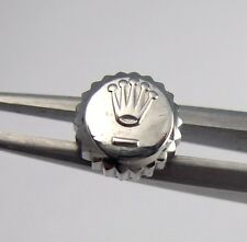 Used Stainless Tudor Princess Oyster Date 5.3mm Watch Crown 24-530-0 Part ¼ Turn
