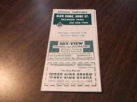 OCTOBER 1958 ERIE RAILROAD GLEN RIDGE, NJ OFFICIAL TIMETABLE