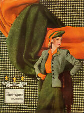 1944 Vintage ad for Forstmann Wooen Company`40's Fashion/clothing (010414)