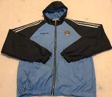 Manchester City hoodie training jacket size L blue colour Umbro