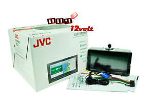 "JVC KW-M75BT 6.8"" Apple CarPlay/AndroidAuto/BT/SiriusXM(NO CD) + FREE HD Camera"