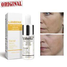 24K Gold Six Peptides Serum Face Cream Anti-Aging Wrinkle Lift Firming Whitening
